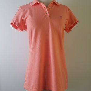 Lilly Pulitzer women's top island polo TransDRY M